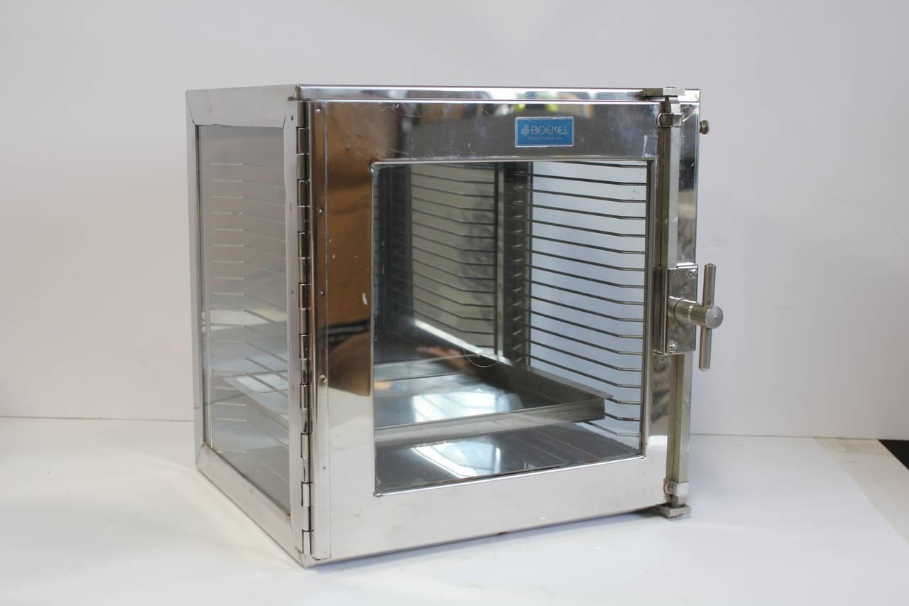 stainless steel medical cabinet by boekel for sale at 1stdibs. Black Bedroom Furniture Sets. Home Design Ideas