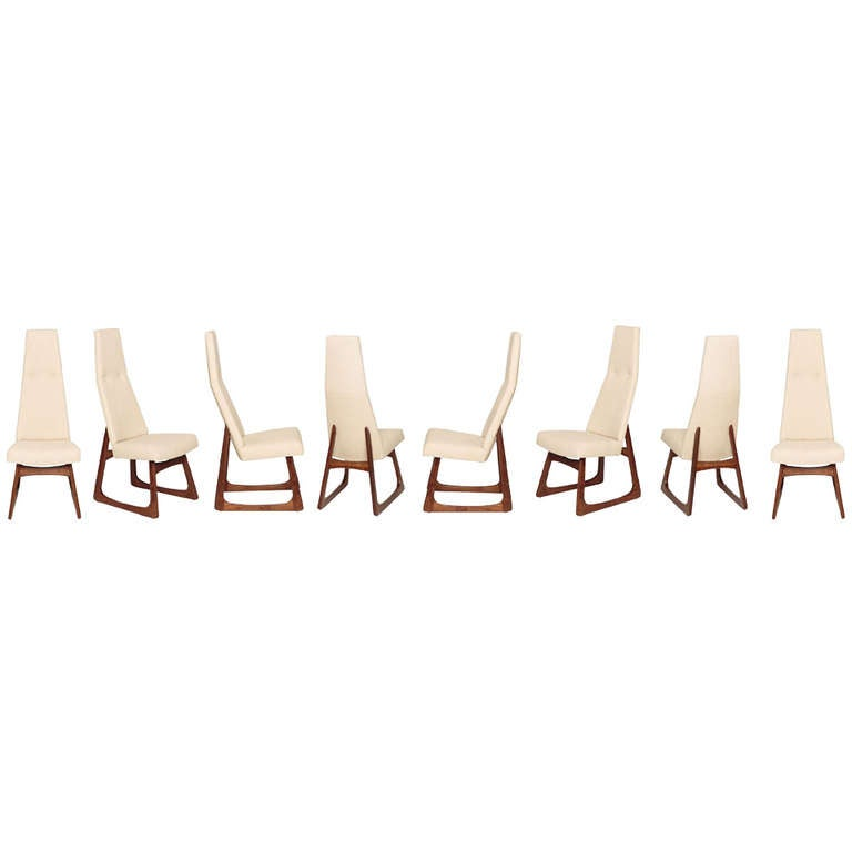 Adrian Pearsall Dining Chairs,set of four chairs