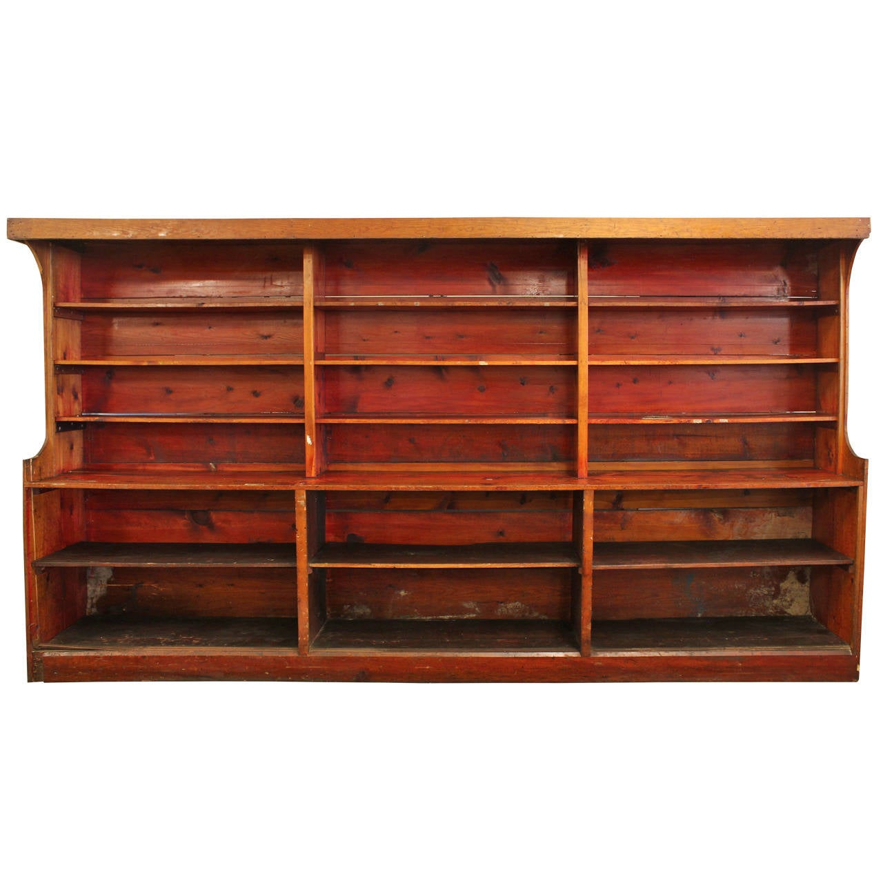 antique american department store shelves for sale at 1stdibs. Black Bedroom Furniture Sets. Home Design Ideas