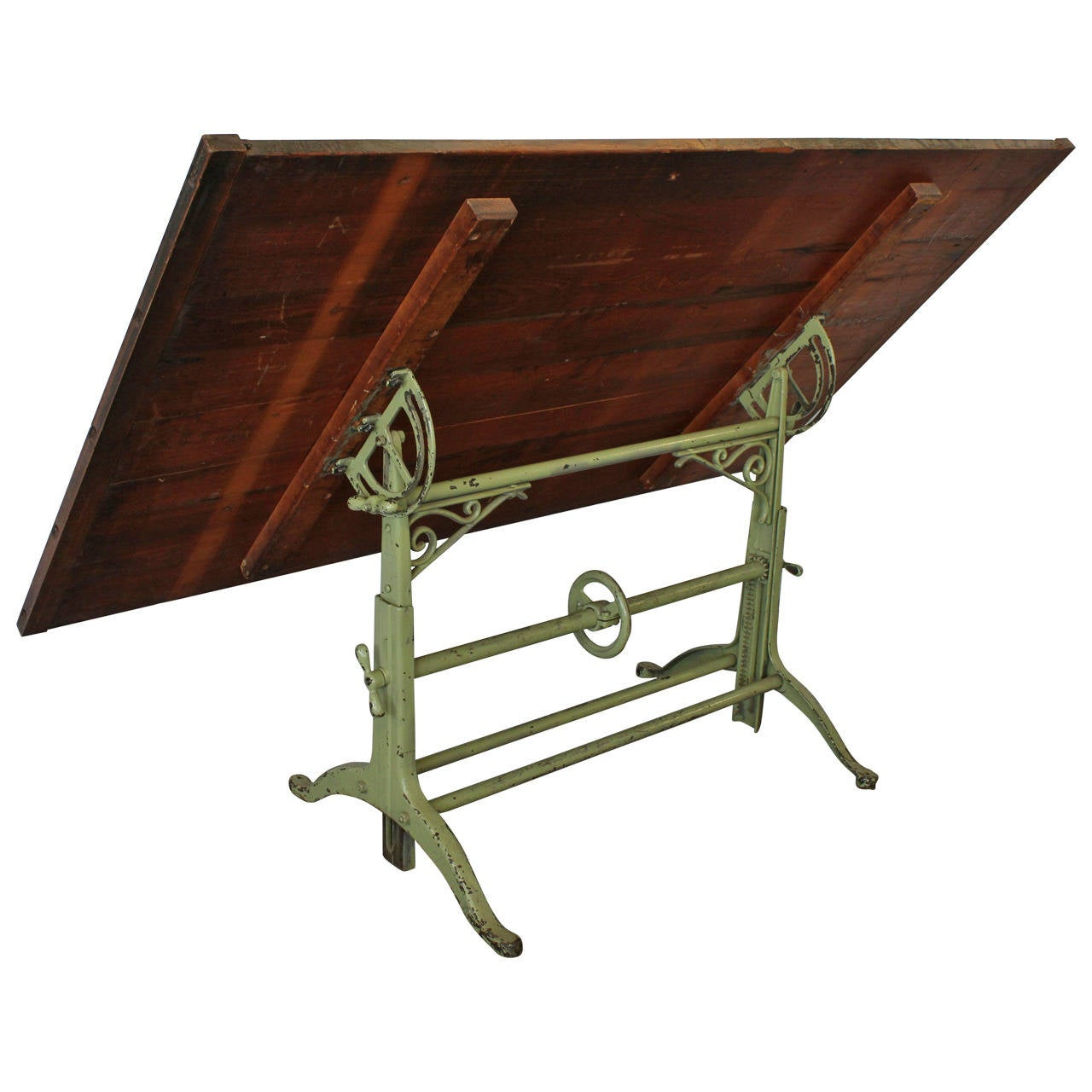 Antique american drafting table at 1stdibs for Furniture 4 u