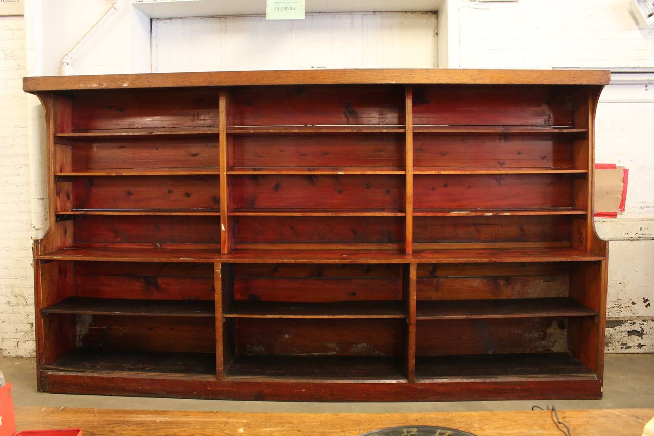 Uncategorized Antique Shelving antique american department store shelves for sale at 1stdibs 2
