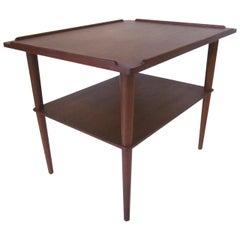 Arne Hovmand-Olsen Danish Teak Wood Side Table