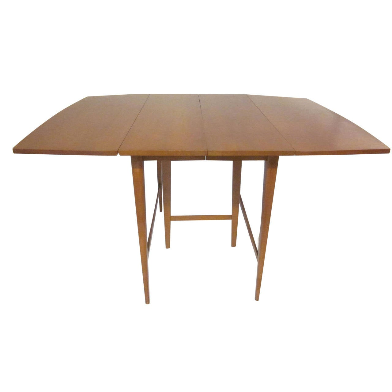 Paul Mccobb Drop Leaf Dining Table At 1stdibs