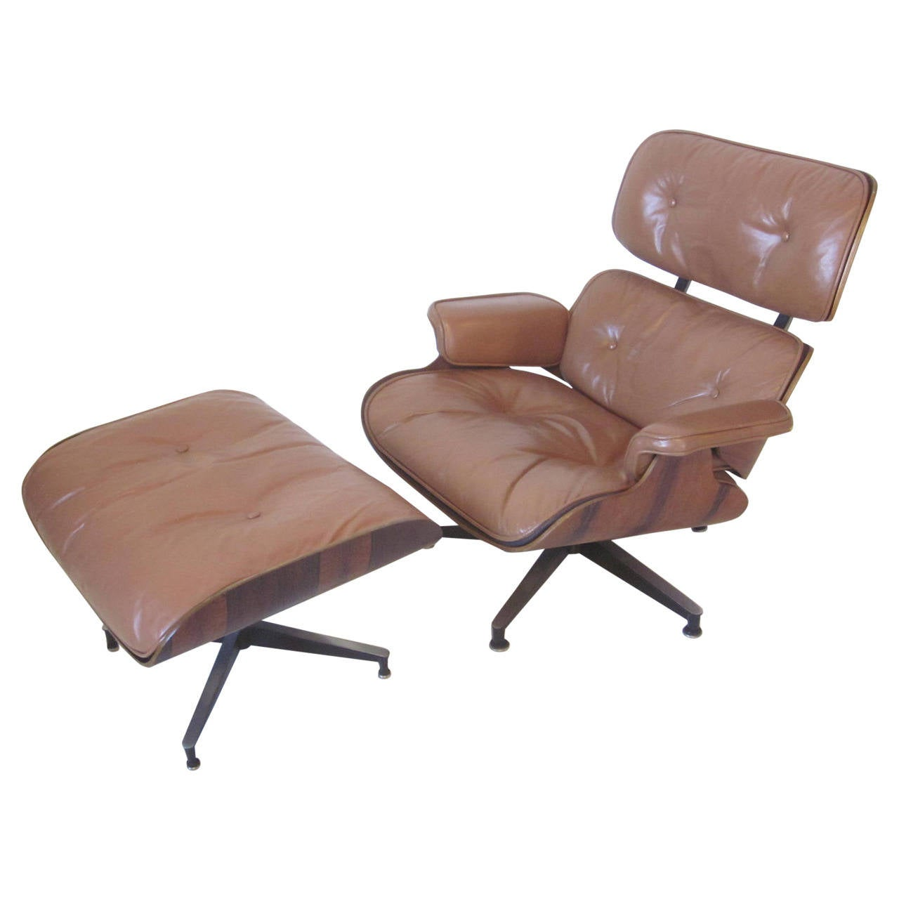 eames 670 lounge chair and ottoman at 1stdibs. Black Bedroom Furniture Sets. Home Design Ideas