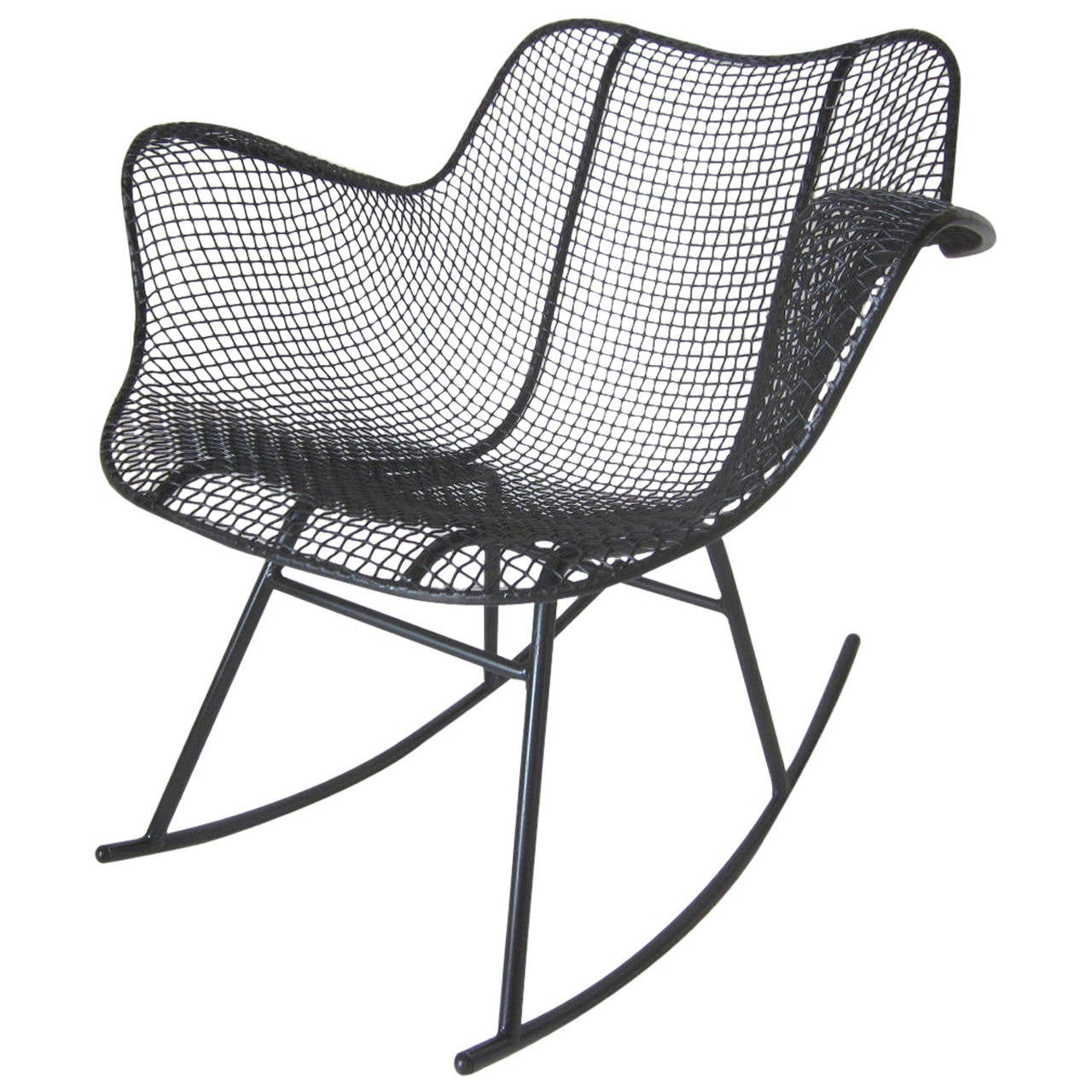 Russell Woodard Mesh Rocker At 1stdibs. Full resolution  pic, nominally Width 1280 Height 1280 pixels, pic with #53585D.