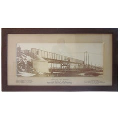 Large Brighton Beach NY Railroad Bridge Photo