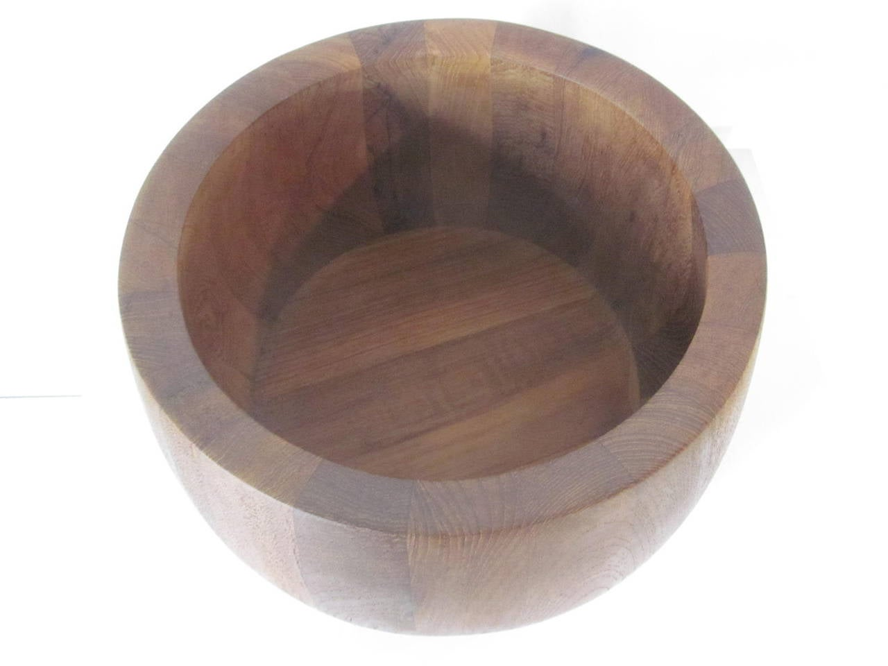 Mid-Century Modern Dansk Salad Teak Bowl For Sale