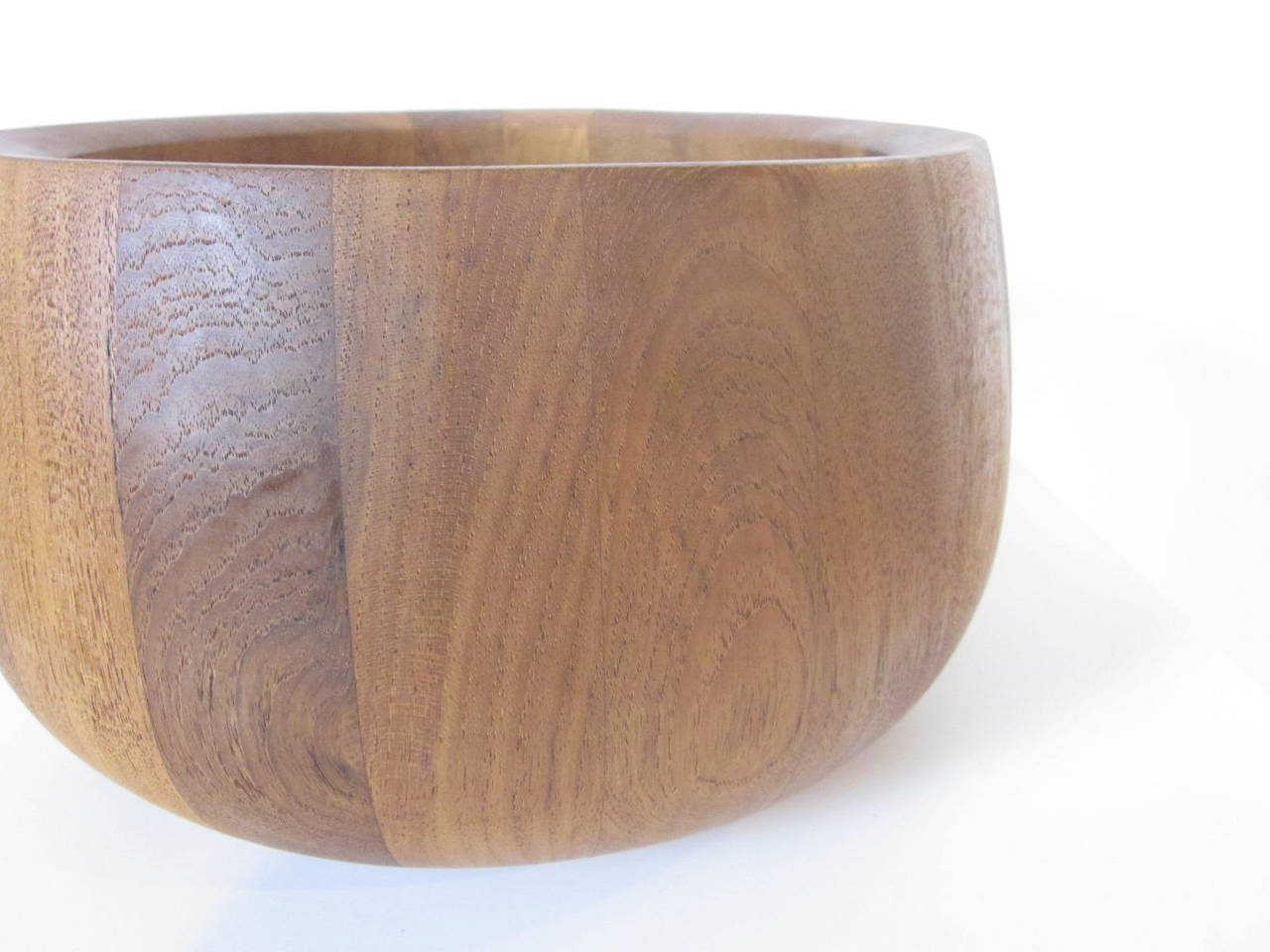 Malaysian Dansk Salad Teak Bowl For Sale