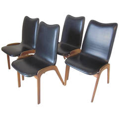Adrian Pearsall Style Dining Chairs