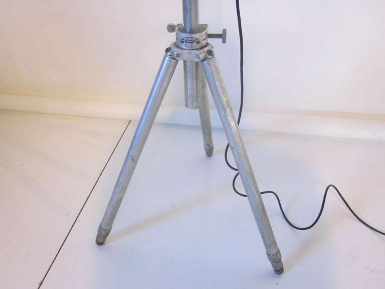 Industrial Aluminum Floor Lamp 6