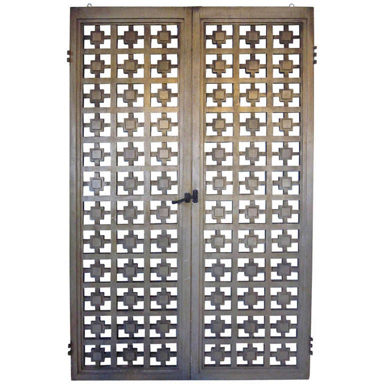Wooden Doors or Screen For Sale