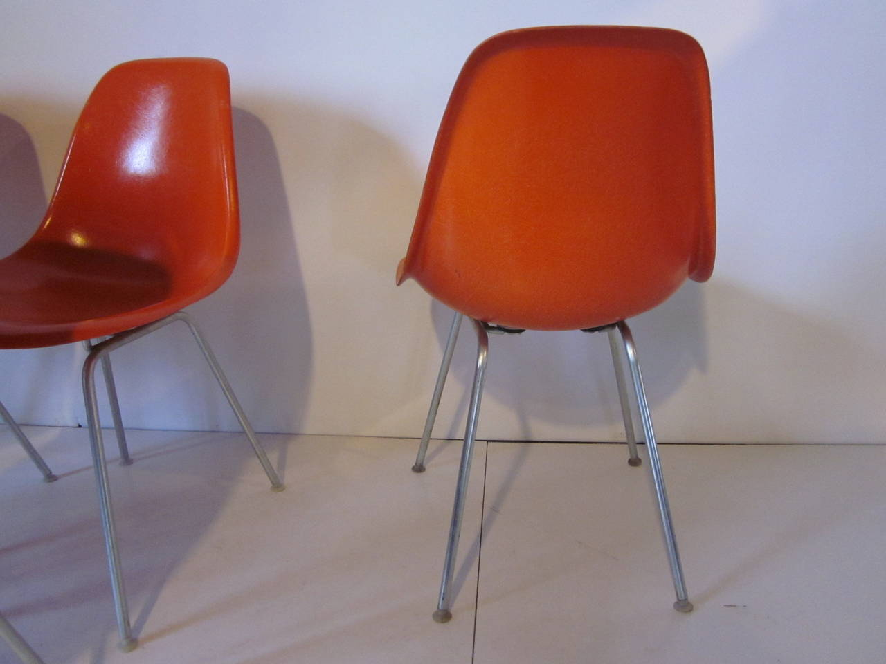 Eames Herman Miller Side Chairs at 1stdibs