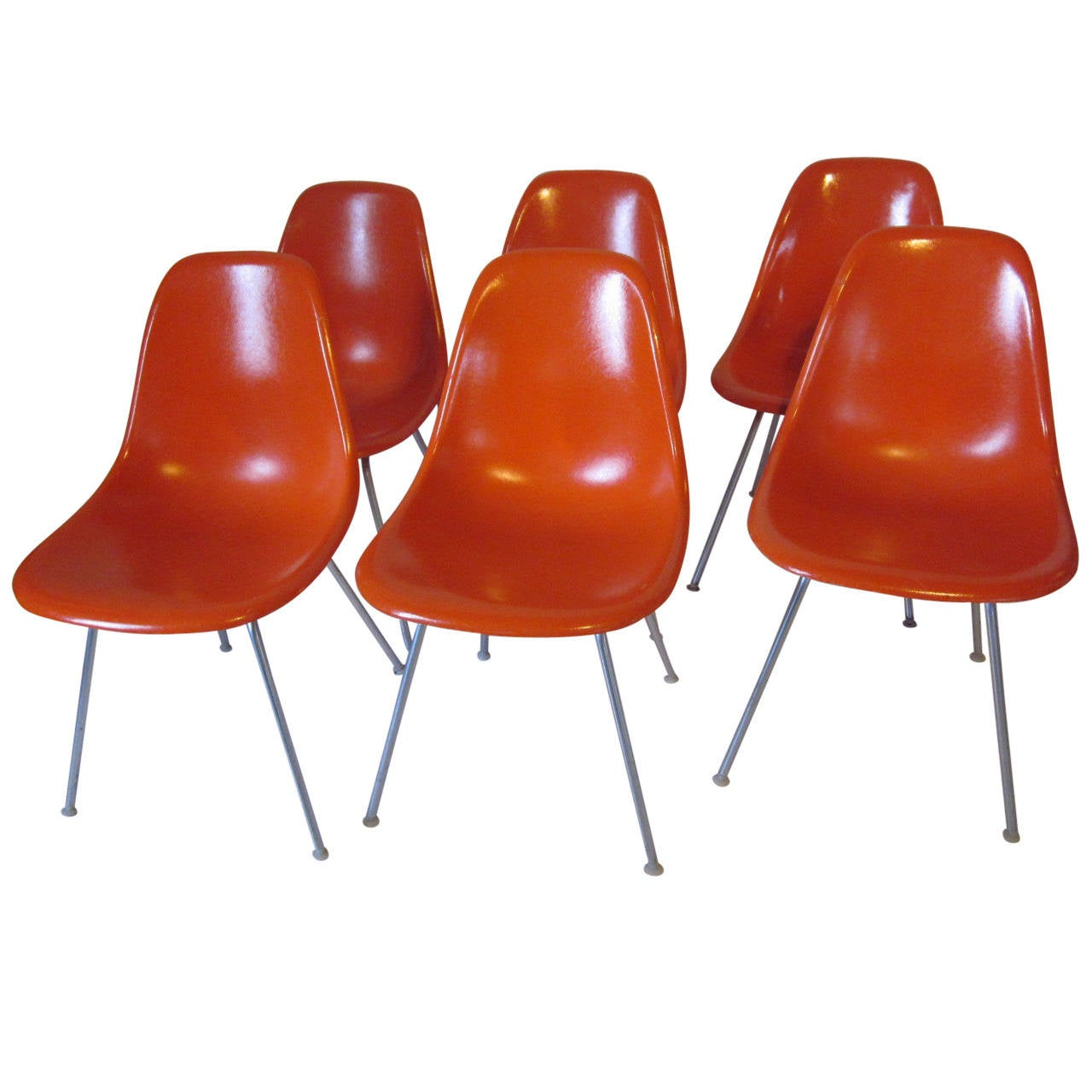 eames herman miller side chairs at 1stdibs. Black Bedroom Furniture Sets. Home Design Ideas