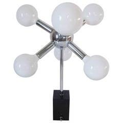Chrome Sputnik Table Lamp