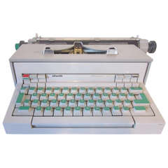 Ettore Sottsass Italian Typewriter