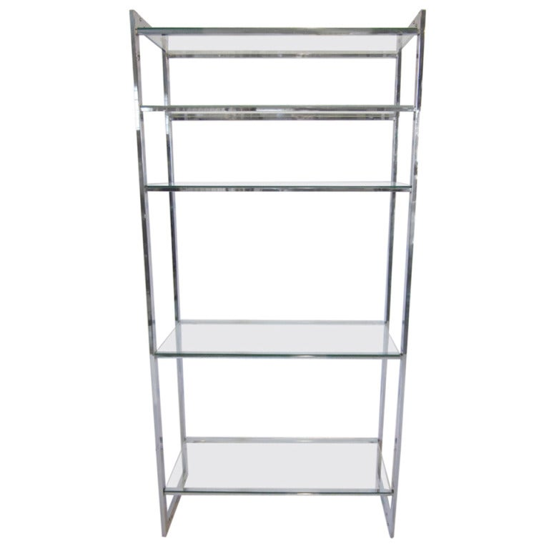 Chrome  Glass Etagere At 1stdibs. Vanity Tops. Side By Side Double Oven Gas Range. Modern Ceiling Lamps. Shower Barn Door. Driveway Edging. Counter Stool. Mirror Over Fireplace. Pub Table And Chairs