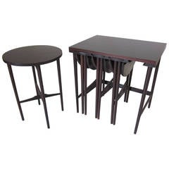 Bertha Schaefer Nesting Tables by Singer and Sons