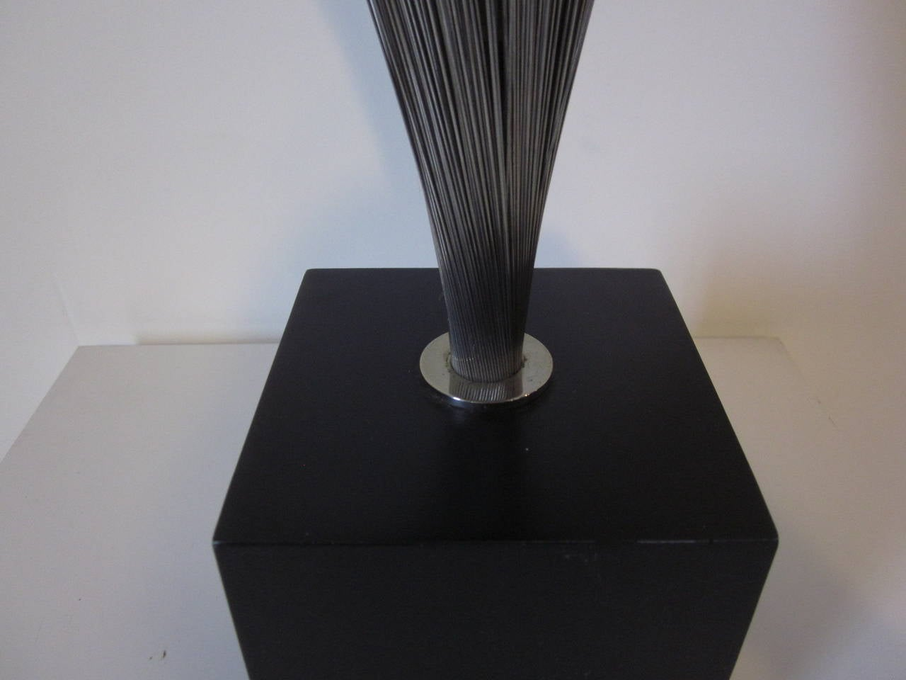 Harry Bertoia Style Spray Table Lamp At 1stdibs