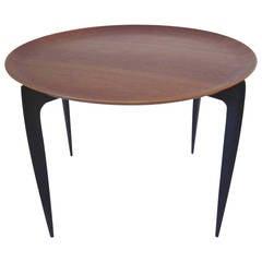 Fritz Hansen Danish Folding Tray Table