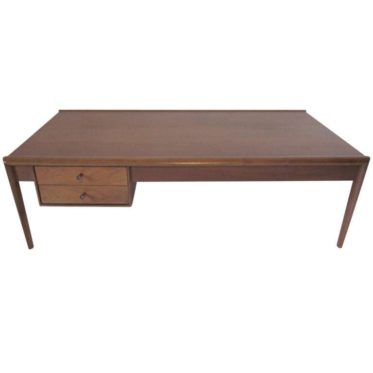 drexel parallel coffee table at 1stdibs