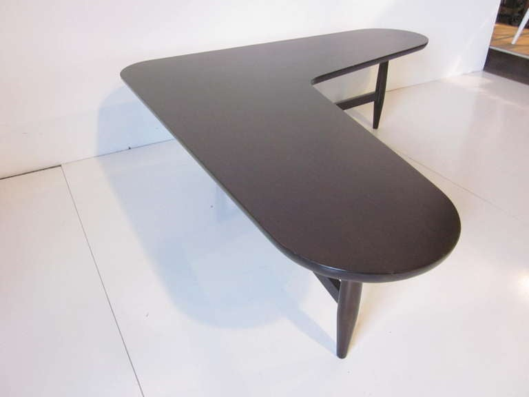 L Shaped Coffee Table At 1stdibs