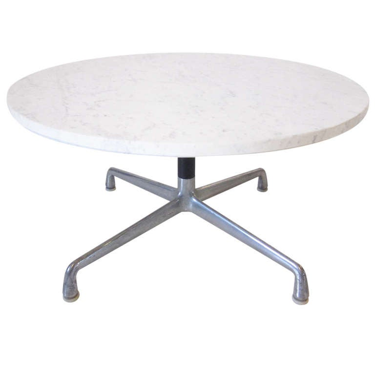 Charles ray eames marble coffee table at 1stdibs for Eames style coffee table