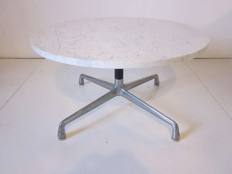 Charles Ray Eames Marble Coffee Table At 1stdibs