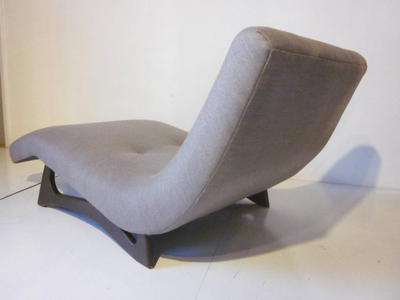 Adrian Pearsall Wave Lounge Chair At 1stdibs