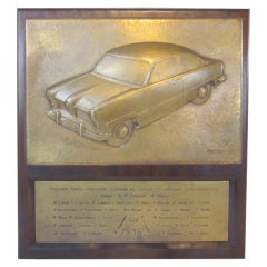 Heinser Crafted 50's German Ford Automotive Plaque