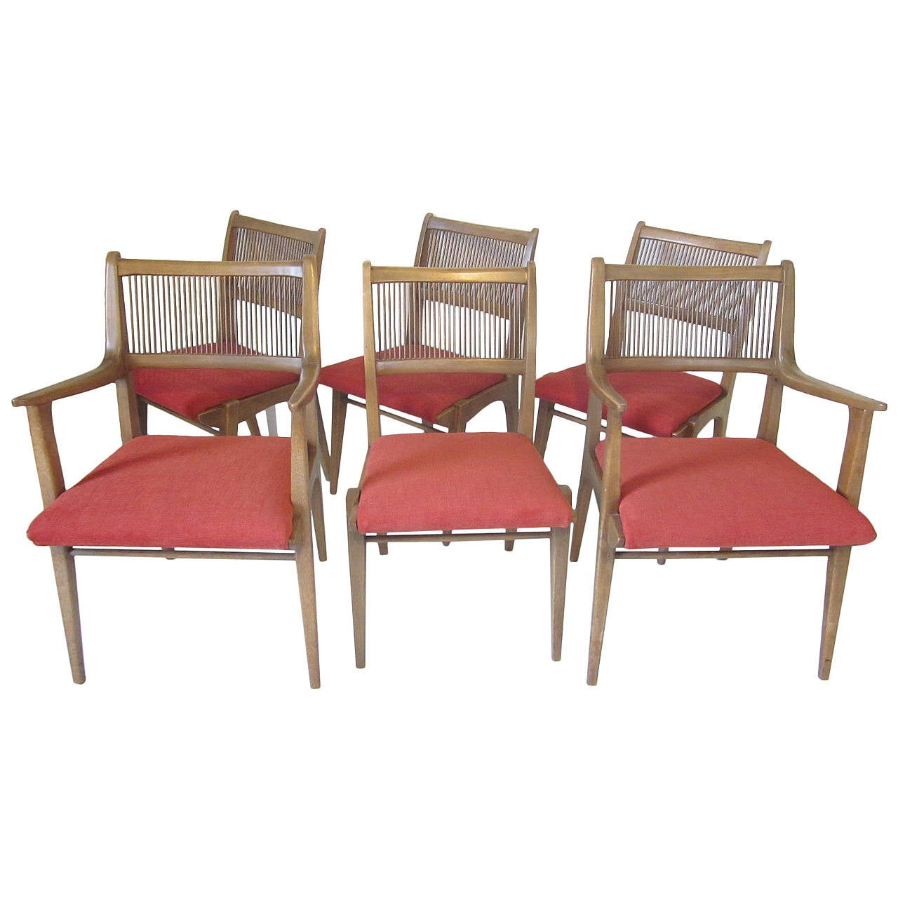 Drexel Dining Chairs Designed By John Van Koert At 1stdibs