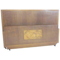 Andrew Szoeke Art Deco Bed