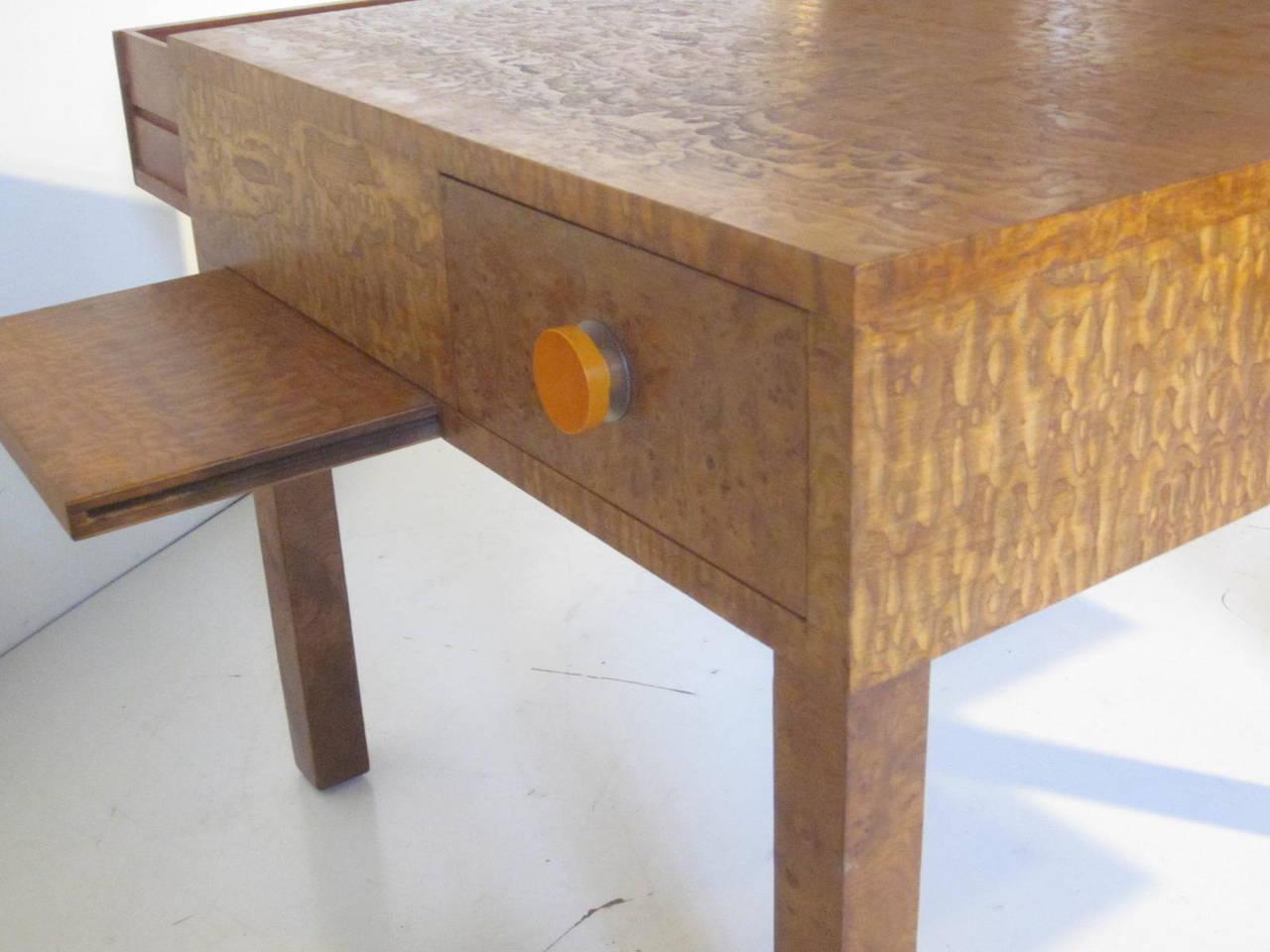 Widdicomb Exotic Wood Coffee Table At 1stdibs