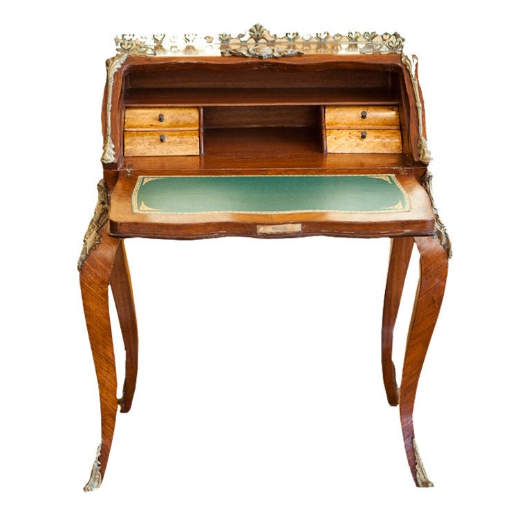 19th C French Ladies Writing Desk At 1stdibs
