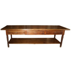 """French Antique Louis Philippe Period """"Draper Table"""""""
