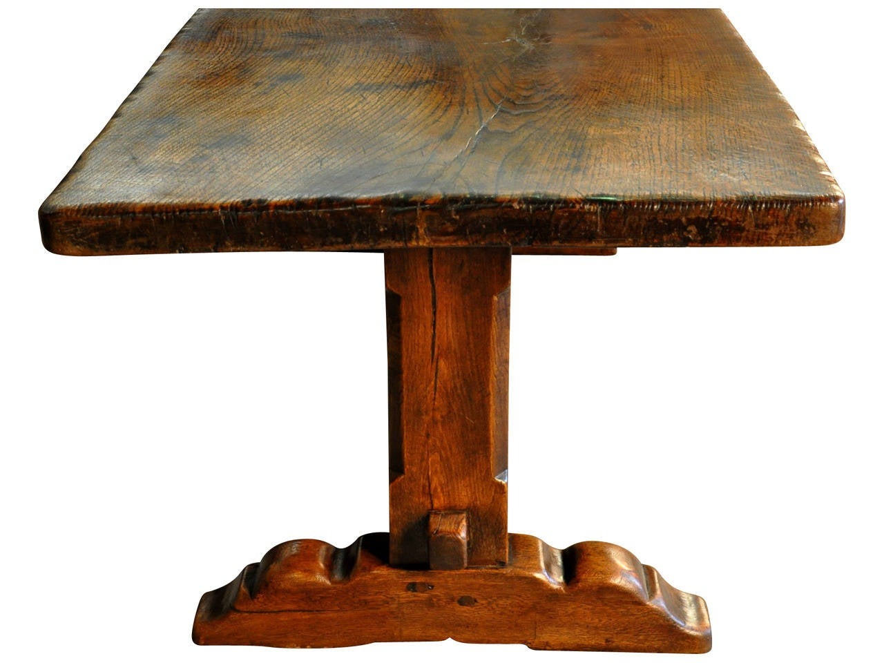 French 19th Century Farm or Trestle Table at 1stdibs : T28846l from www.1stdibs.com size 1280 x 960 jpeg 119kB