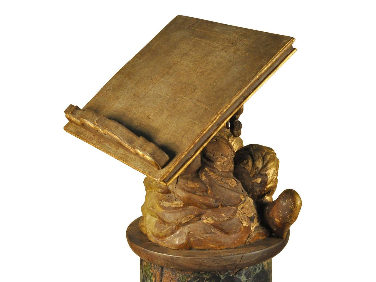 18th Century and Earlier 17th Century Italian Ecclesiastical Lectern For Sale