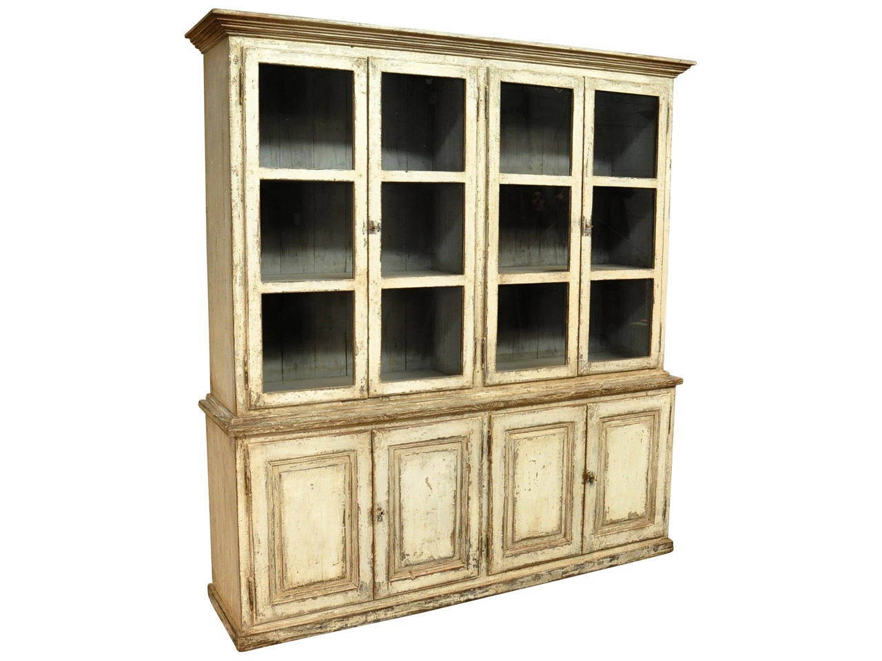 19th Century Bookcases In Solid Painted Wood From Portugal At 1stdibs. Full resolution‎  picture, nominally Width 1280 Height 960 pixels, picture with #A0832B.