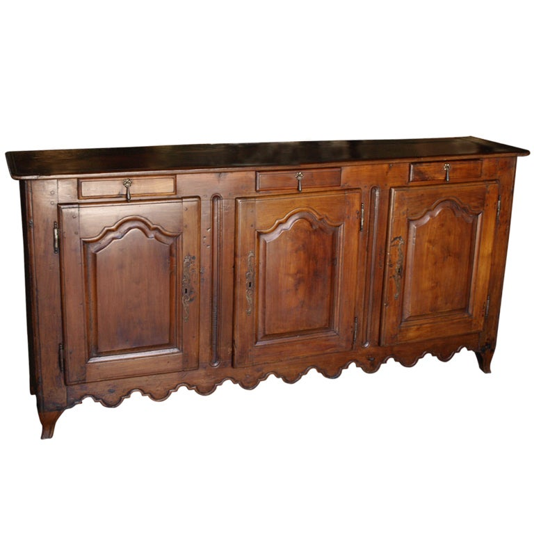 Late th century provencal buffet in cherry wood at stdibs