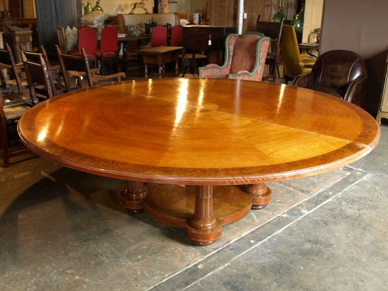 Antique Spanish Round Conference Table For Sale At Stdibs - Round conference table for 12