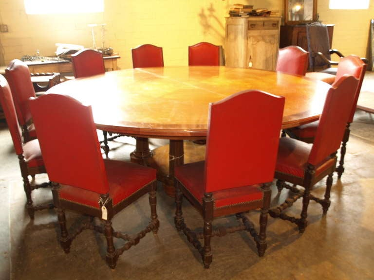 Antique Spanish Round Conference Table For Sale At Stdibs - Round conference table for 4