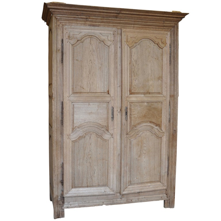 french early 19th century louis xiv style armoire in. Black Bedroom Furniture Sets. Home Design Ideas