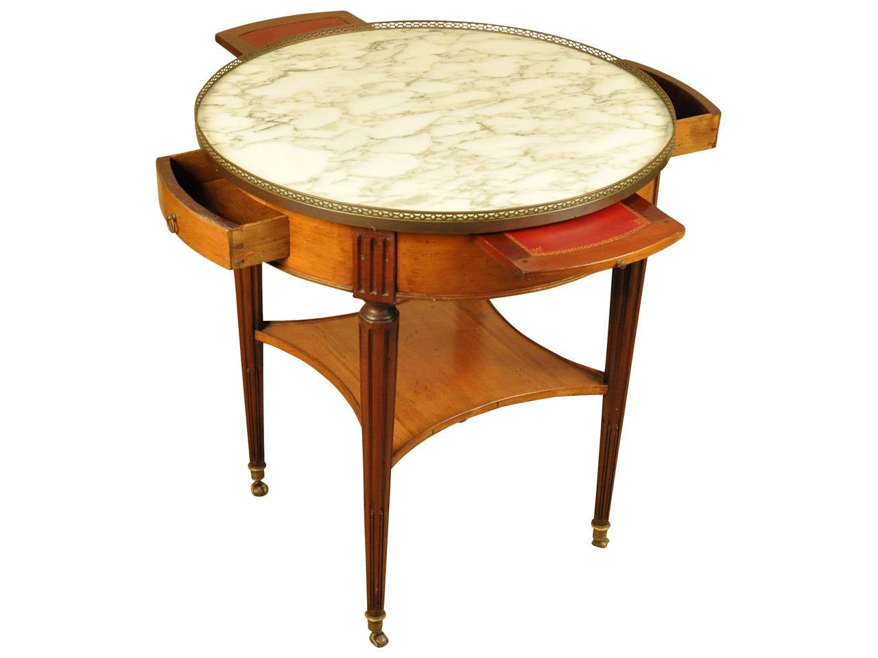 French louis xvi style gueridon or table bouillotte at for Table gueridon