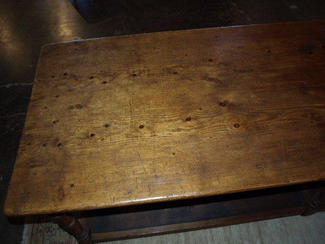 19th Century French Quot Drapier Quot Work Table In Pine Wood At