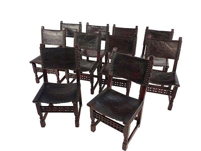 Spanish Renaissance Dinning Room Chair