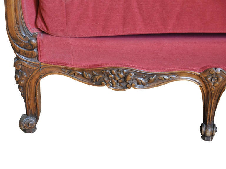 French Late 19th Century Louis XV Style Sofa in Beech Wood 7