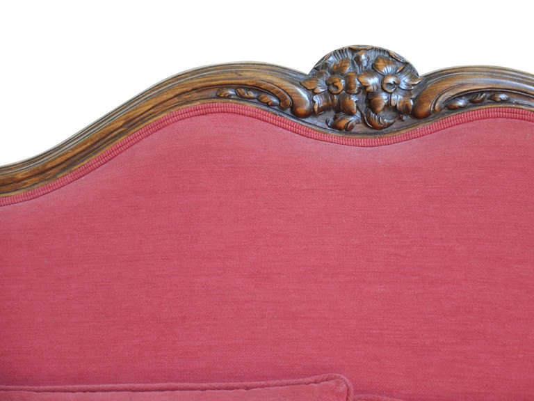 French Late 19th Century Louis XV Style Sofa in Beech Wood 8