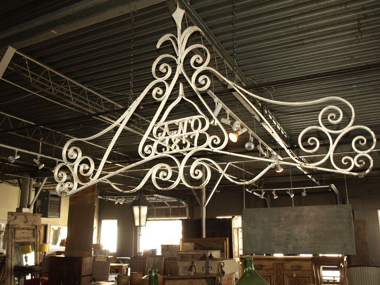 Antique Architectural Iron Work At 1stdibs