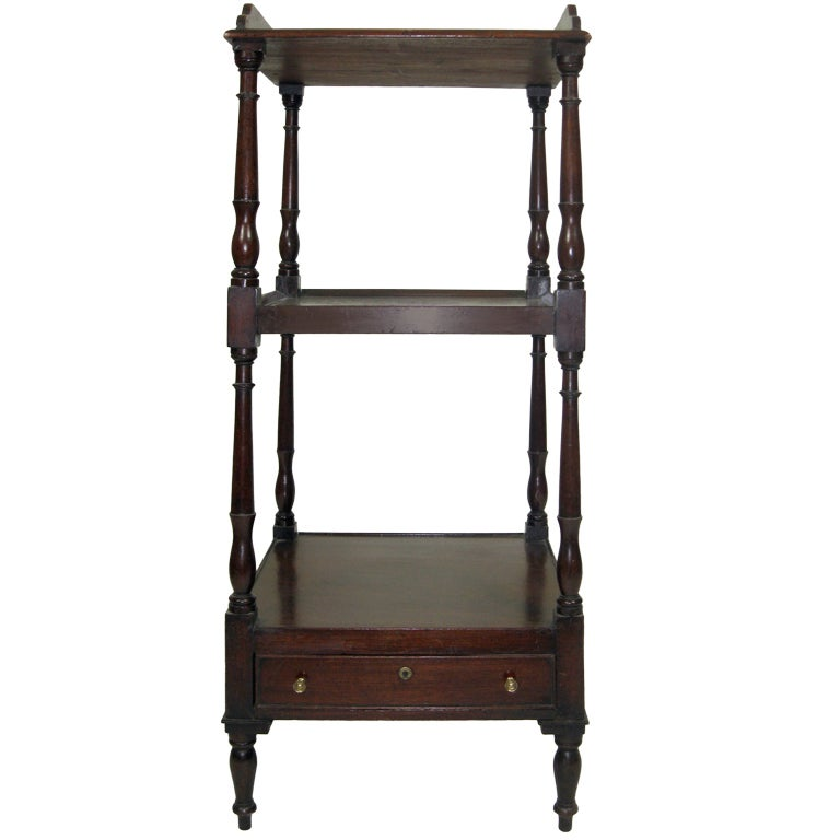 William iv etagere at 1stdibs - Etagere cases carrees ...