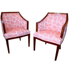 Danish Art Deco Chairs