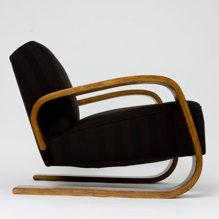 Armchair 400 � Tank� Lounge Chairs From Artek: Alvar Aalto 30-400 Tank Chair At 1stdibs